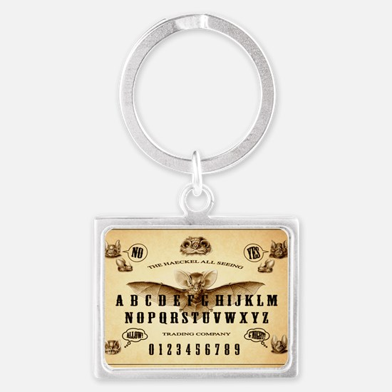 The Haeckle All Seeing Trading  Landscape Keychain