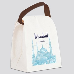 Istanbul_10x10_BlueMosque_Blue Canvas Lunch Bag