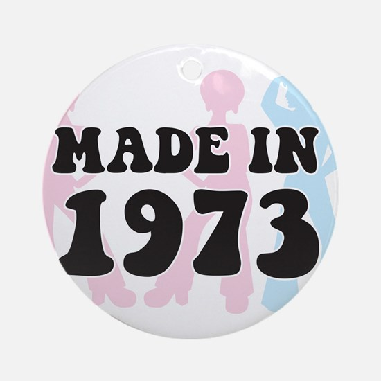 Made In 1973 Ornament (Round)