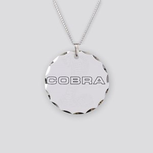 MACA White Necklace Circle Charm
