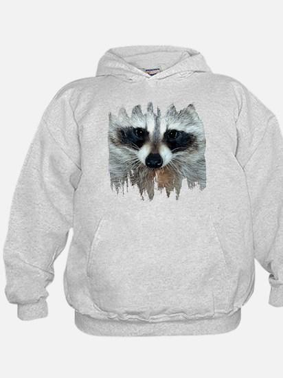 Raccoon Face Hoodie