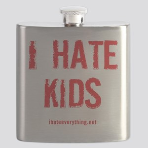 I Hate Kids Flask