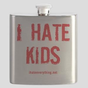 I Hate Kids Flask