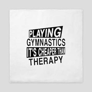 Awesome Gymnastics Player Designs Queen Duvet