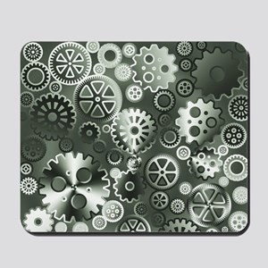 Steel gears Mousepad
