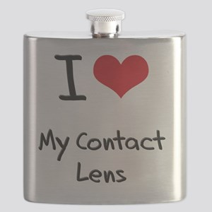 I love My Contact Lens Flask