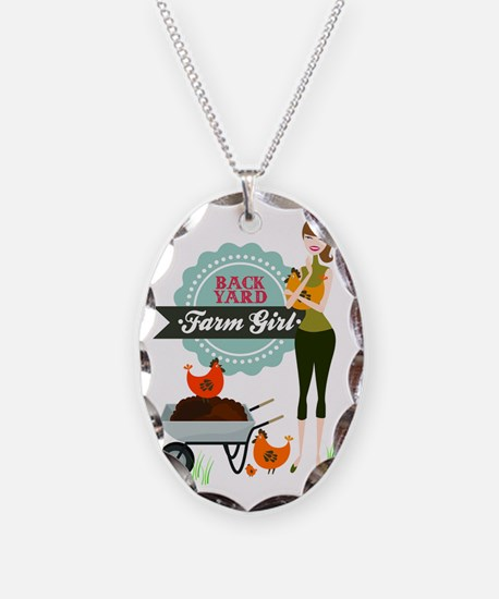 Backyard Farm Girl Necklace