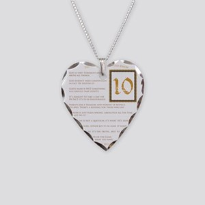 The Perfect 10 Necklace Heart Charm