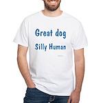 Silly Human JAMD White T-Shirt
