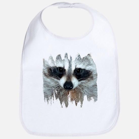 Raccoon Face Bib