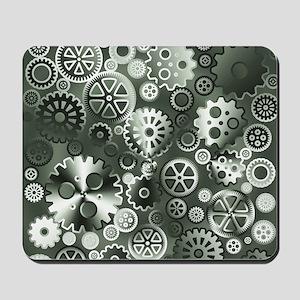 Steel gears Mousepad