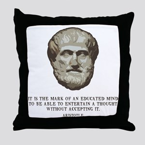 aristotle-edmind-LTT Throw Pillow