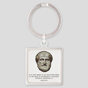 aristotle-edmind-LTT Square Keychain