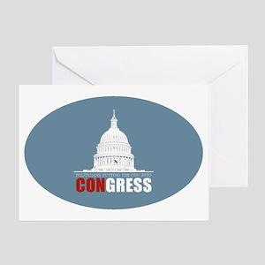 CONgress Greeting Card