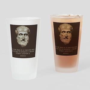 aristotle-edmind-TIL Drinking Glass