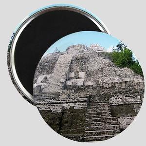 "Ancient Mayan Ruins ""Lumanai"" in Belize  Magnet"