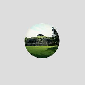Xunantunich Mayan Ruin Site - Belize C Mini Button