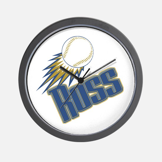 Personalized Ross Wall Clock