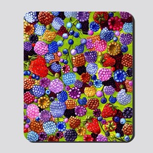 all the berries in the kitchen Mousepad