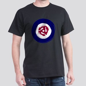 Mod Northern soul design with vinyl a Dark T-Shirt