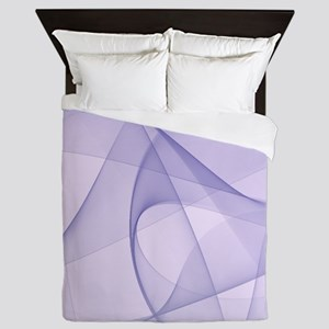 fractal purple Queen Duvet