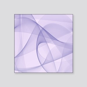"fractal purple Square Sticker 3"" x 3"""