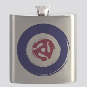 Retro Mod Target with 45 rpm adaptor Flask