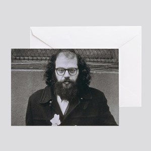 Allen Ginsberg. Greeting Card