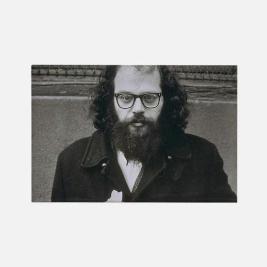 Allen Ginsberg. Rectangle Magnet