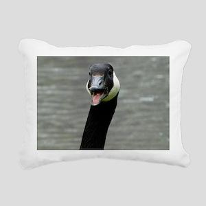 Goose Rectangular Canvas Pillow