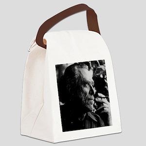 Chales Bukowski Canvas Lunch Bag