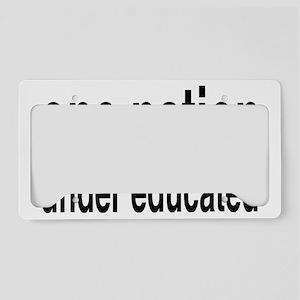 educatedrectangle License Plate Holder