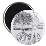 Bicycle Picture Magnet