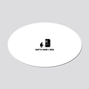 Exterminator-12-A 20x12 Oval Wall Decal