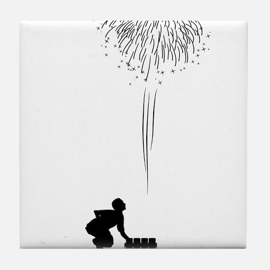 Pyrotechnician-12-A Tile Coaster