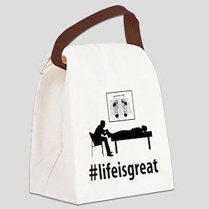 Reflexologist-06-A Canvas Lunch Bag
