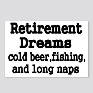 Retirement Dreams Postcards (Package of 8)