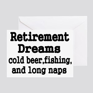Retirement Dreams Greeting Card