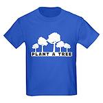 Plant Tree Kids Dark T-Shirt