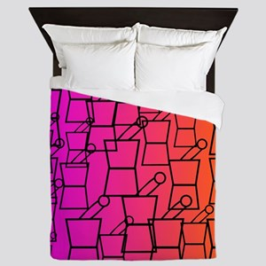 pharmacist all over BEST 1 Queen Duvet