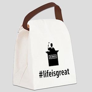 Judge-06-A Canvas Lunch Bag