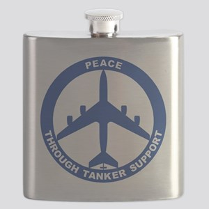 KC-135R - Peace Through Tanker Support Flask