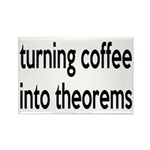 Mathematician: Coffee Into Theorems Rectangle Magn