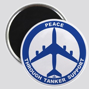 KC-135R - Peace Through Tanker Support Magnet