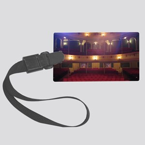 View from the Stage Large Luggage Tag