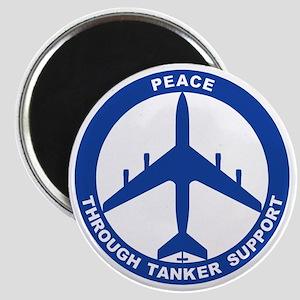 KC-135E - Peace Through Tanker Support Magnet