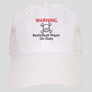 Warning Basketball Player Cap