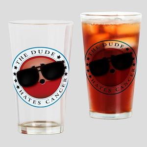 TDHC logo Drinking Glass