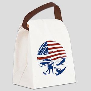 Lake Fun Canvas Lunch Bag