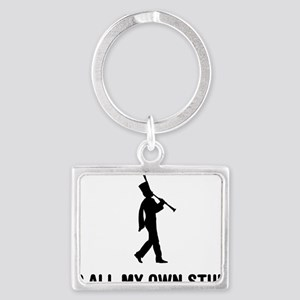 Marching-Band---Clarinet-03-A Landscape Keychain